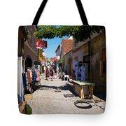 Art Street In Varazdin Tote Bag
