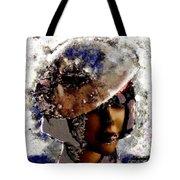 Art Vintage She Fragmented Tote Bag