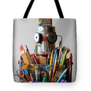 Art Warrior Tote Bag by Jen Hardwick