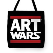 Art Wars Tote Bag