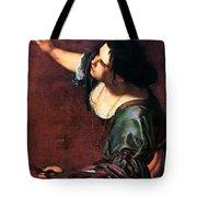 Artemisia Gentileschi Tote Bag