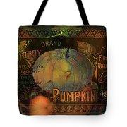 Artful Pumpkins Tote Bag