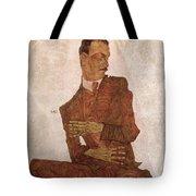 Arthur Roessler Tote Bag by Egon Schiele