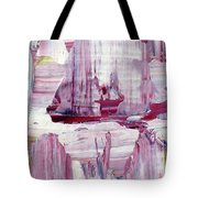 Artic Sailing Tote Bag