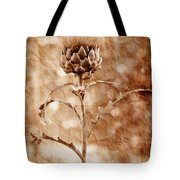 Artichoke Bloom Tote Bag