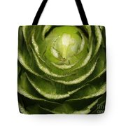 Artichoke Close-up Tote Bag