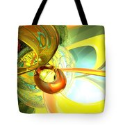 Articulate Design Abstract Tote Bag