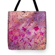 Artificial Flowers Tote Bag