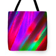 Artificial Rainbow Tote Bag