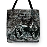 Artillery At Pickettes Charge Tote Bag
