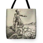 Artillery Caisson Tote Bag
