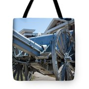 Artillery In Front Of The Armory Tote Bag