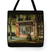 Artisan Patissier Montmartre Paris Tote Bag