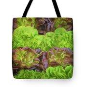 Artisinal Greens Madrid Spain Tote Bag