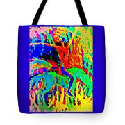 The Artist Of The Burning Rainbow  Tote Bag