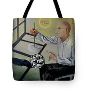 Artist And Muse Tote Bag
