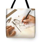 Artist At Work - So Yeon Ryu Part 1 Tote Bag