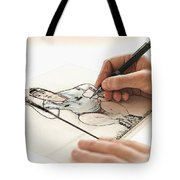 Artist At Work - So Yeon Ryu Part 3 Tote Bag