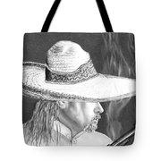 Artist Self Portrait Tote Bag