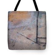 Artist Sidewalk 2 Tote Bag