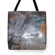 Artist Sidewalk 3 Tote Bag