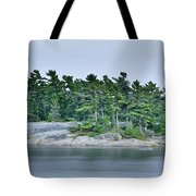 Artistic Granite And Trees  Tote Bag