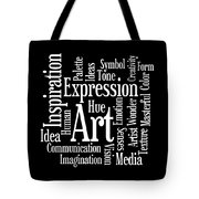Artistic Inspiration Tote Bag