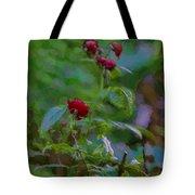 Artistic Last Rose Tote Bag