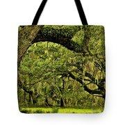 Artistic Live Oaks Tote Bag