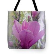 Artistic Magnolia Tote Bag