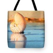 Artistic Nautilus Tote Bag