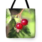 Artistic Panterly Two Wild Goosberries Tote Bag