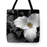 Artistic Trillium Tote Bag