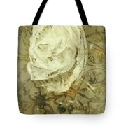 Artistic Vintage Floral Art With Double Overlay Tote Bag