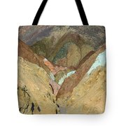 Artist's Brushstrokes Tote Bag