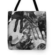 Artist's Hands Tote Bag