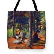 Artists In The Woods Tote Bag