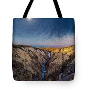 Artist's Point Sunrise Tote Bag