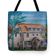 Arts And Crafts Style Tote Bag