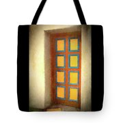 Arts Center Door Tote Bag