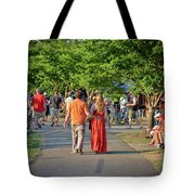 Arts Walk Tote Bag