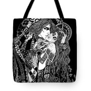 Artspired The Kiss Tote Bag