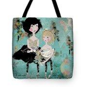Artsy Girls Tote Bag