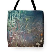 Artwork Representing The Disappeared Located Under A Bridge In Buenos Aires-argentina  Tote Bag