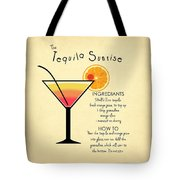Tequila Sunrise Tote Bag