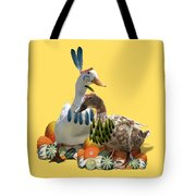 Thanksgiving Indian Ducks Tote Bag