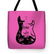 Fender Stratocaster 54 Tote Bag by Mark Rogan