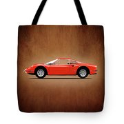 Ferrari Dino 246 Gt Tote Bag
