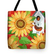 Sunflower Surprise Tote Bag