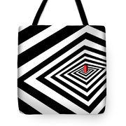 A Round Peg In A Square Hole Tote Bag
